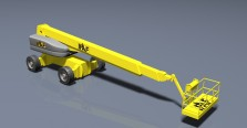 Yellow cherry picker